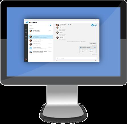 Elevate desktop application
